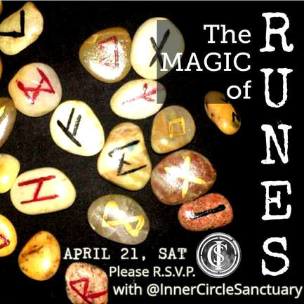 THE MAGIC OF RUNES with Lord Tanys hosted by Inner Circle Sanctuary