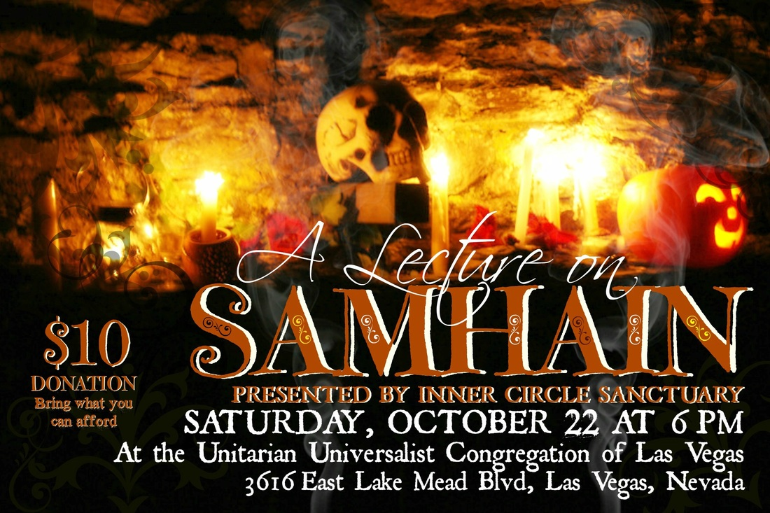 Inner Circle Sanctuary event - Samhain Lecture 2016