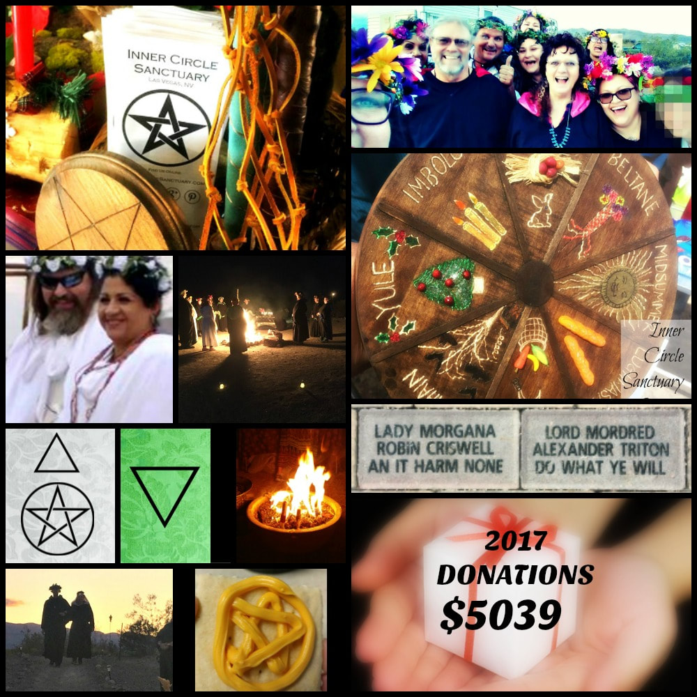 Inner Circle Sanctuary Charity Donations 2017