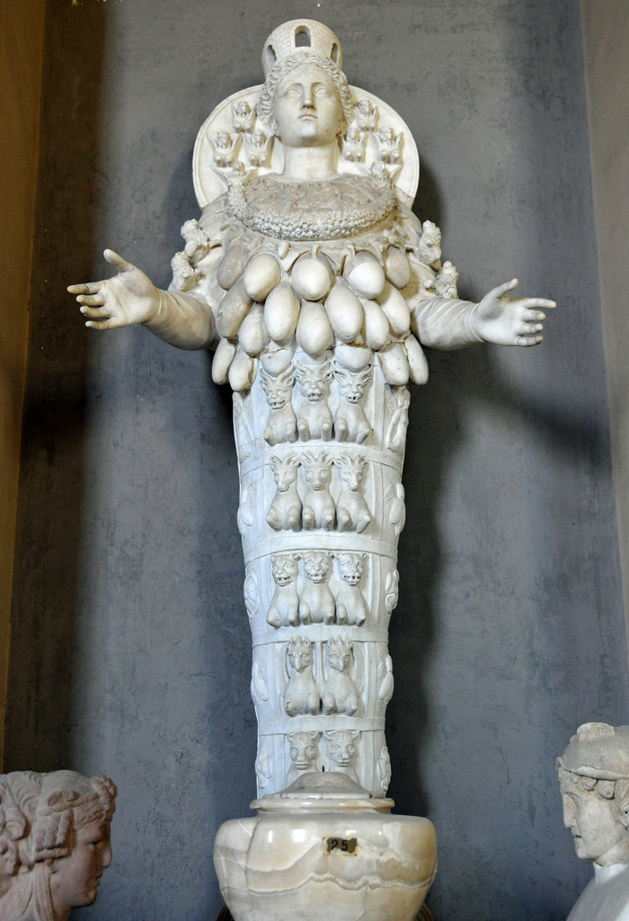 Artemis of Ephesus Photo by Dennis Jarvis, 2010 (CC BY-SA 2.0)