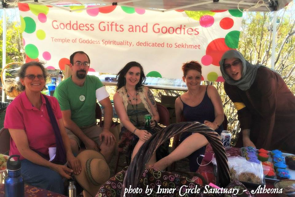 Las Vegas Pagan Pride 2015 Temple of Sekhmet Booth
