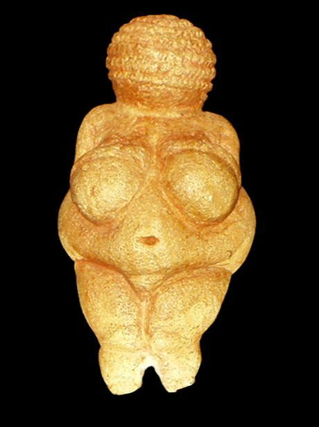 Venus von Willendorf, photo by Oke from the Naturhistorisches Museum Wien, 6 March 2005 - CC BY-SA 3.0