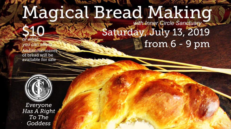 Magical Bread Making with Inner Circle Sanctuary