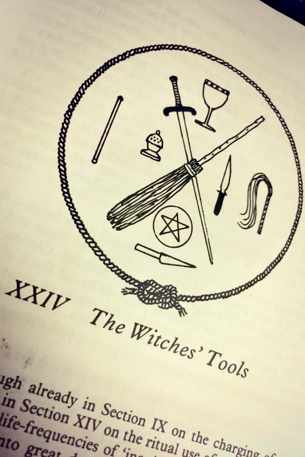 The Witches' Bible - Farrars - The Witches' Tools